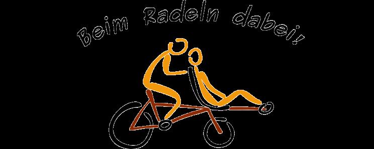 Beim Radeln dabei