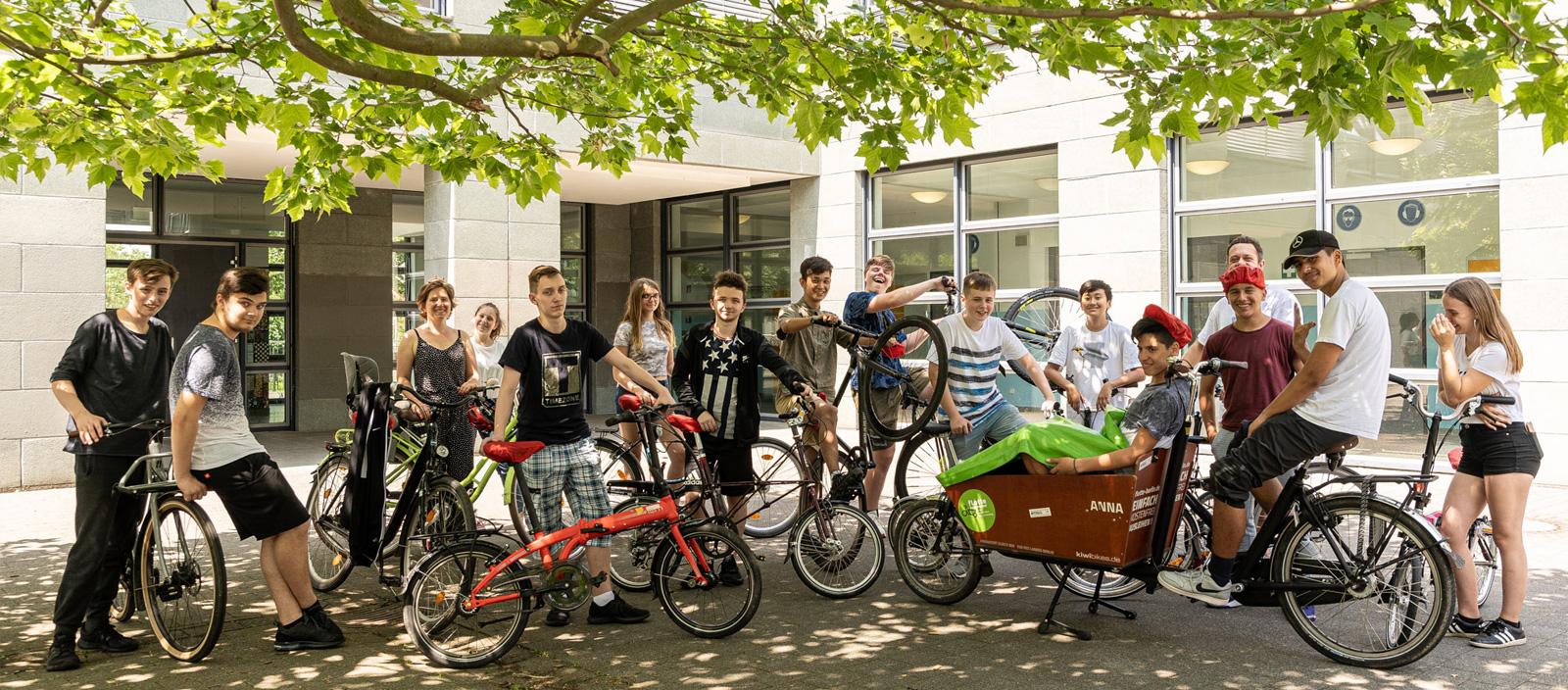 StatusRad an der Fritz-Reuter-Oberschule Lichtenberg