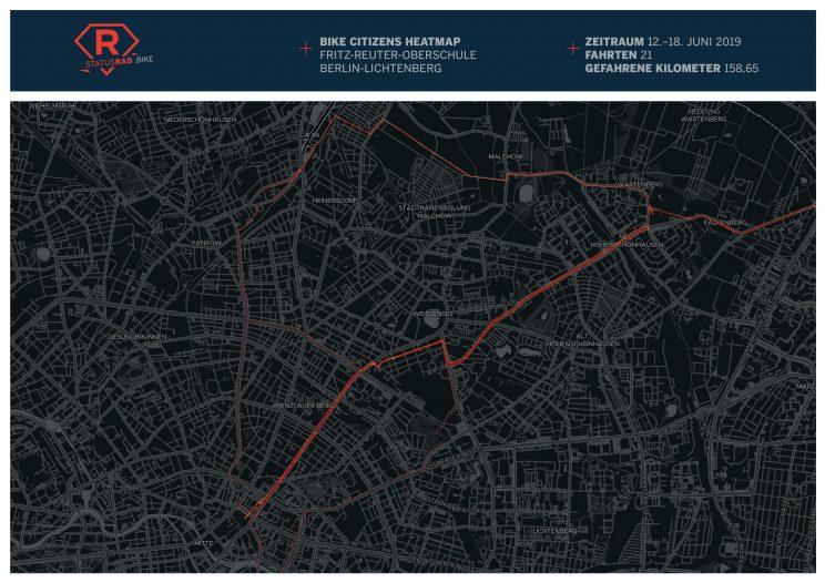 StatusRad Heatmap Berlin-Lichtenberg