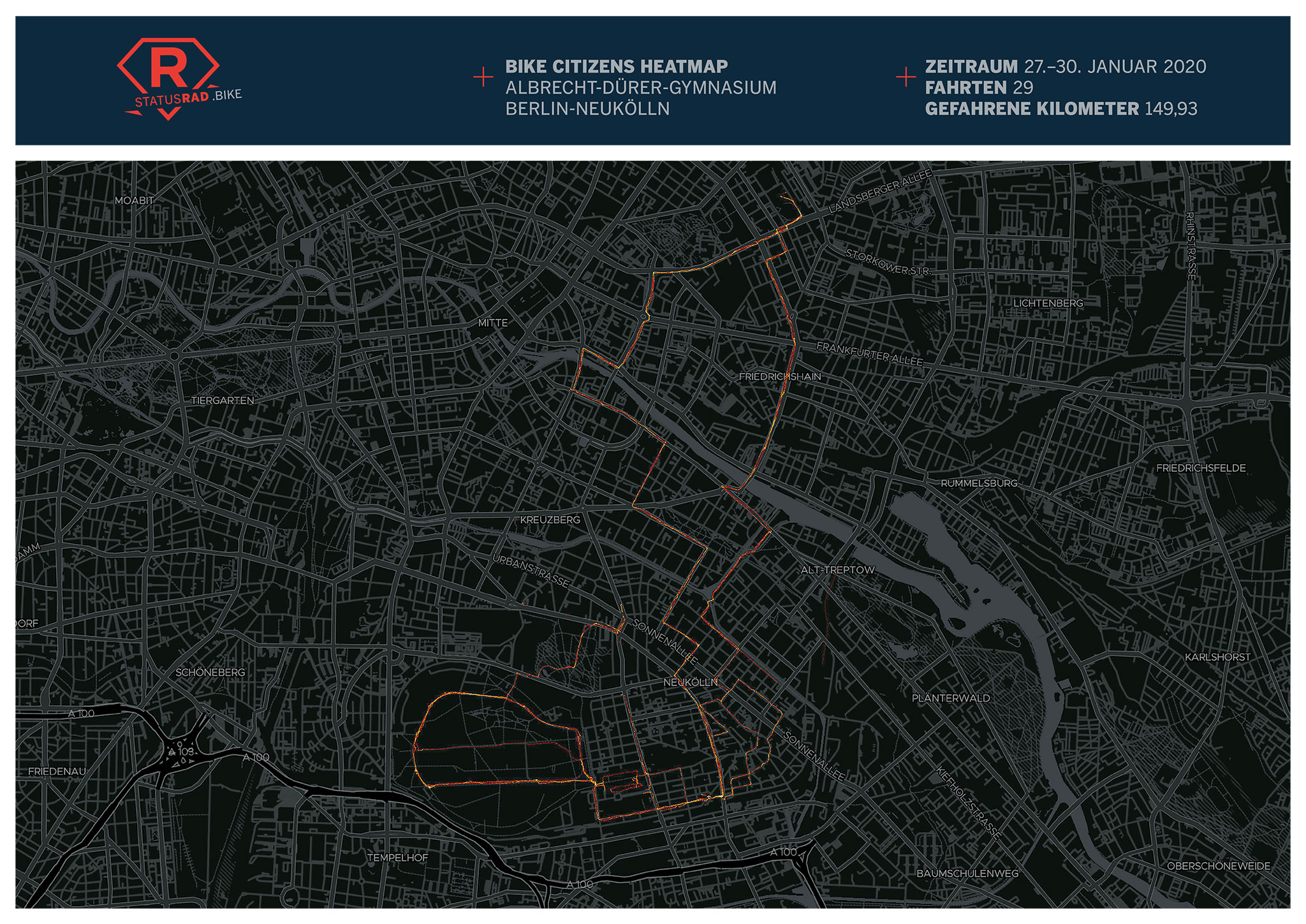 StatusRad Heatmap Berlin-Neukölln
