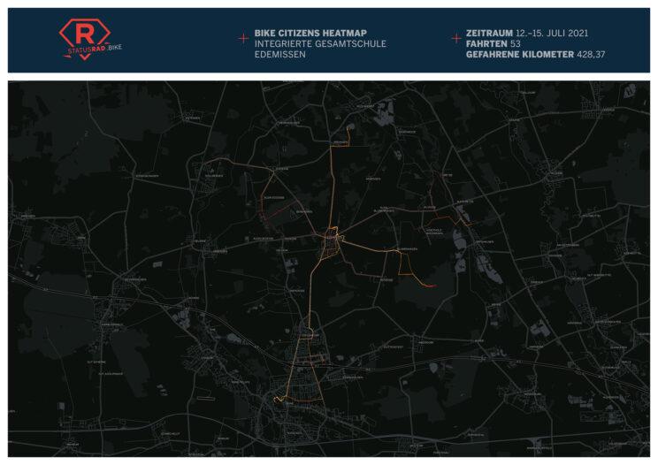 Heatmap der IGS Edemissen